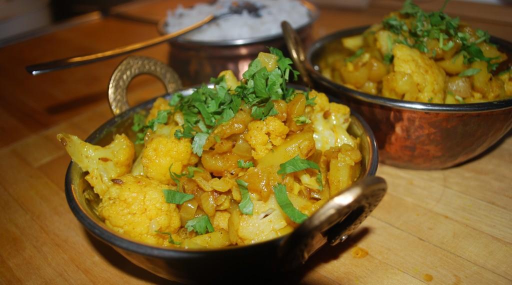 Indisk vegetarmat