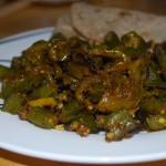 Bhindi masala – indisk hovedrett med en tropisk grønnsak