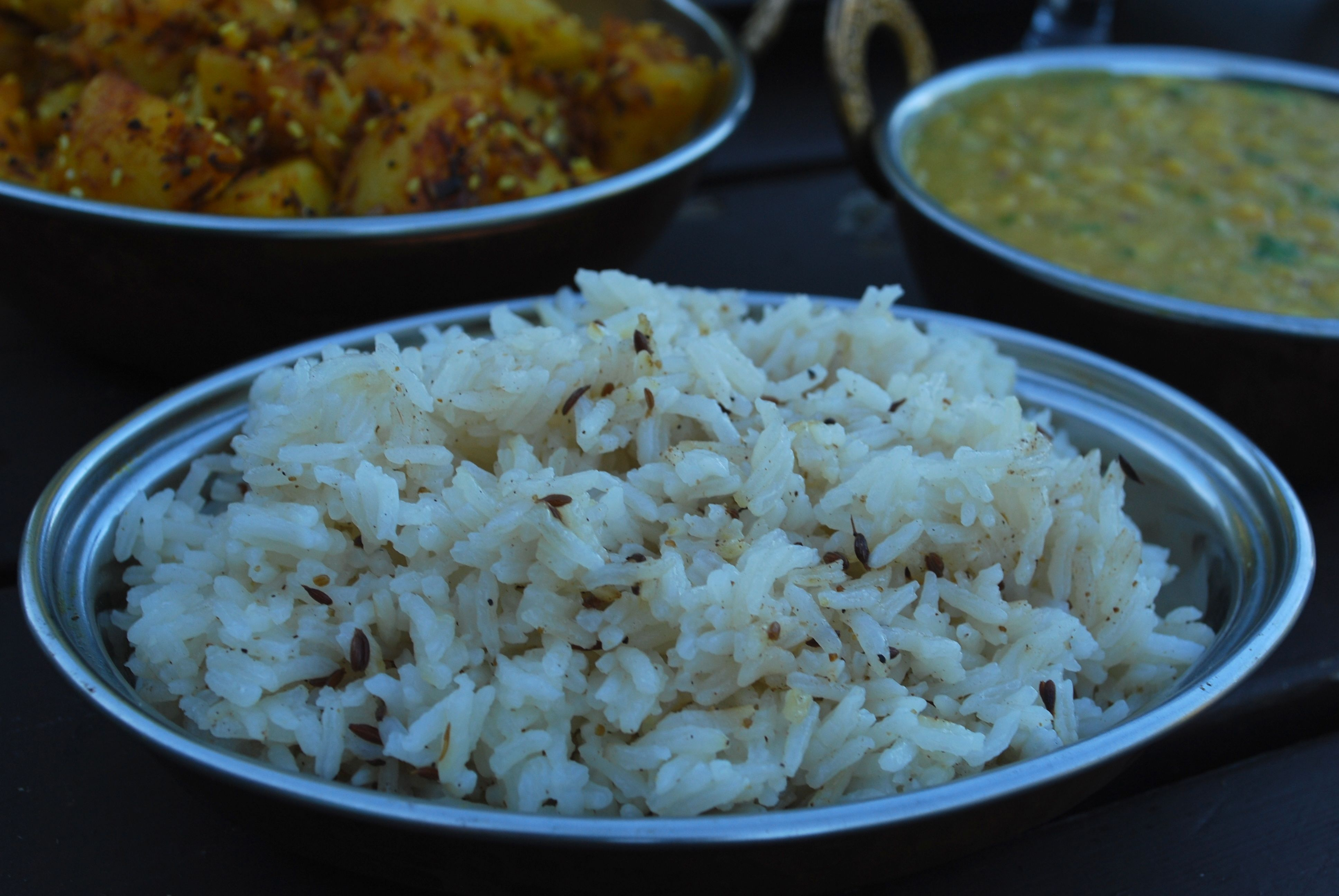 Jeera ris; En enkel risrett i en herlig krydderblanding