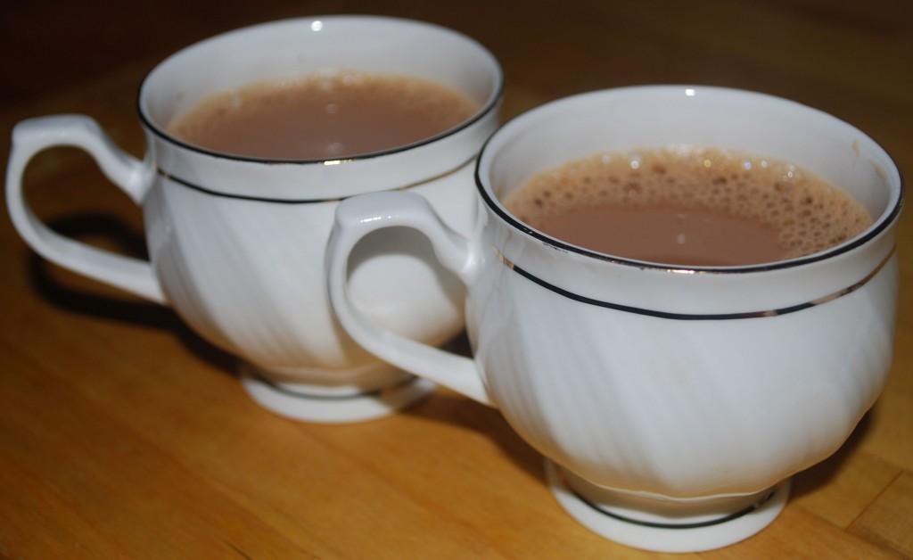 Chai: Indisk te med krydder og melk