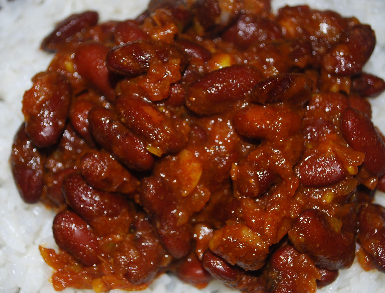 Rajma masala: Kidneybønner i en herlig tomatcurry