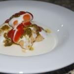Dahi bhalle – Linseboller med yoghurt og chutney