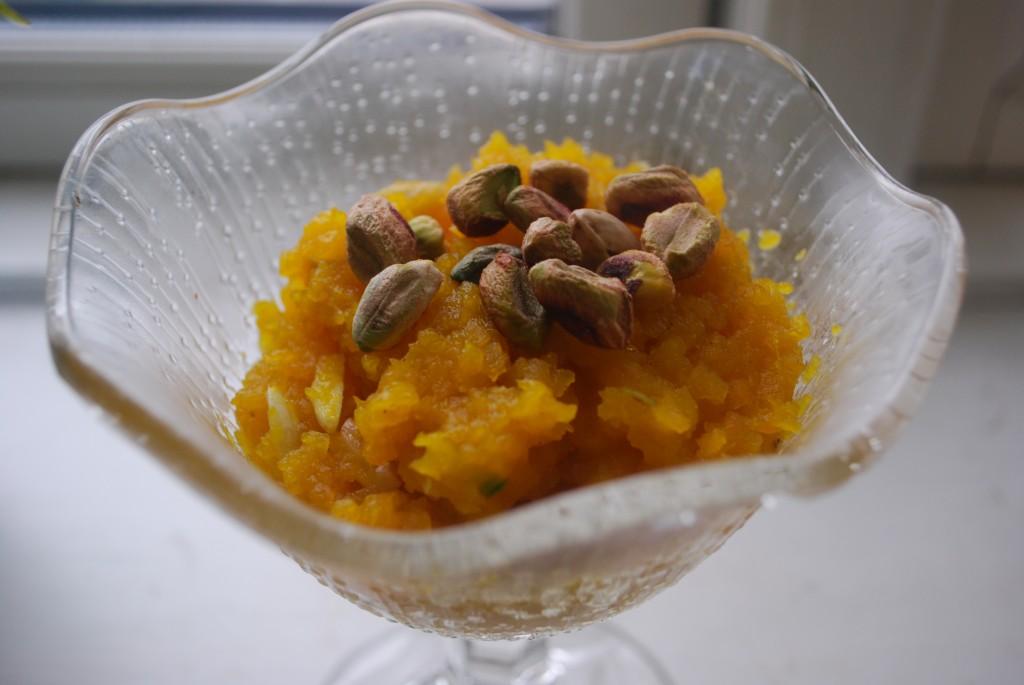 Gresskarhalwa er en deilig indisk dessert som er enkel å lage