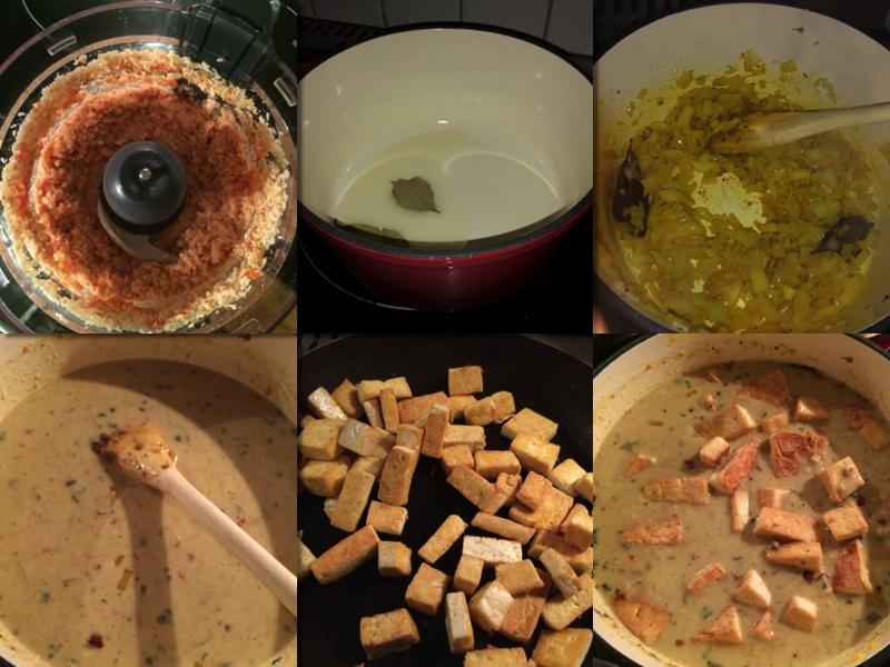Tofukorma eller vil du heller ha med paneer? Serveres varm!