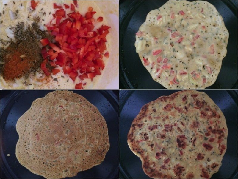 Besan pura: Indisk brunsj/frokost