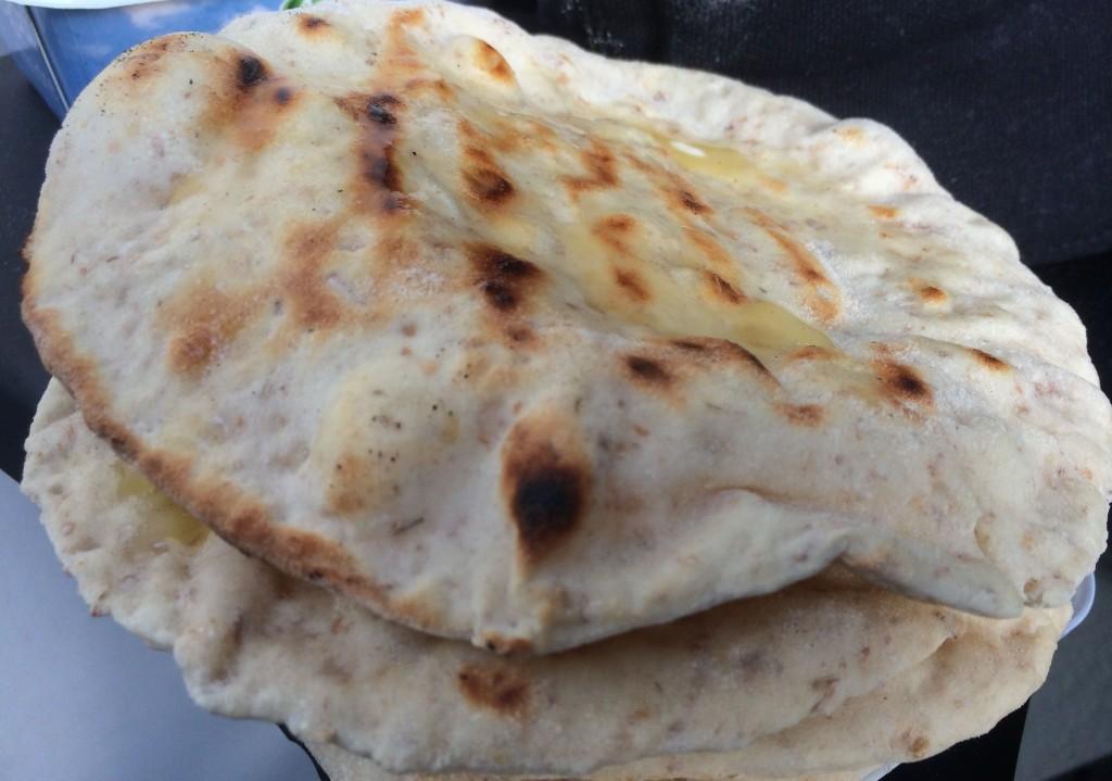 Grillet naan: Nestbest etter tandoori naan