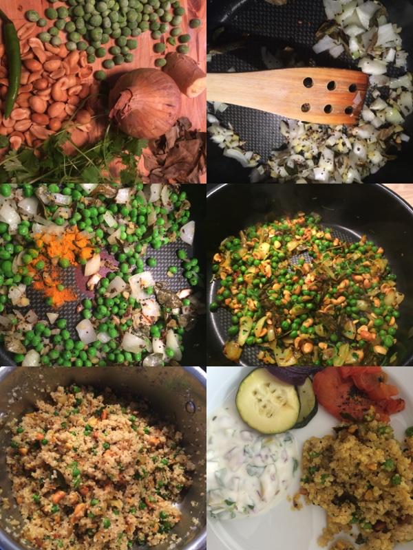 Quinoa poha oppskrift