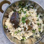 Matar pulao – krydret ris med erter