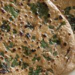 Chapati med hvitløk og urter