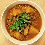 Aloo matar curry – Erter- og potetkarri