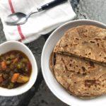 Laccha paratha – Crispy og flaket flatbrød