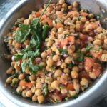Chatpata chana – Sur og spicy Kikertsalat