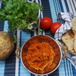 Shalgam bharta – Kålrot i spicy tomatsaus
