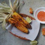 Bhuna bhutta – Grillet maiskolbe med spicy lime