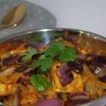 Tofu do pyaza – Stekt tofu i saus av løk