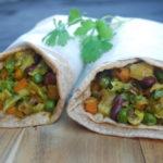 Kathi roll – Indisk wrap fylt med grønnsaker